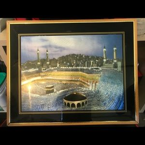 Islamic kaba frame with picture